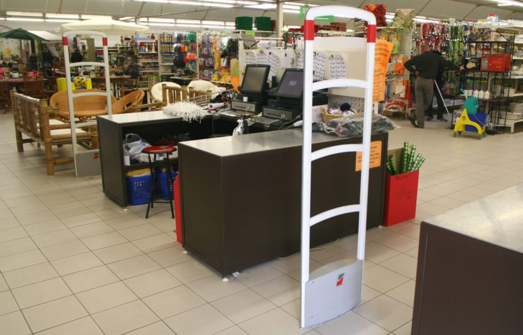équipement magasin antenne antivol