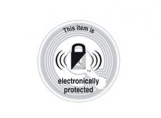 étiquette antivol électronique