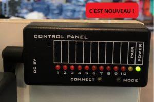 Centrale détecteur d'aimant